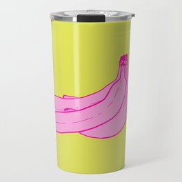 Pink Bananas Travel Mug
