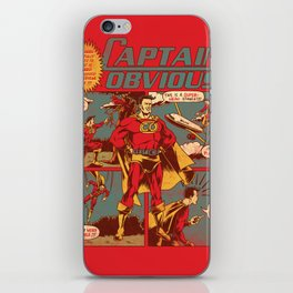 Captain Obvious! iPhone Skin
