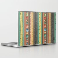 stripes Laptop & iPad Skins featuring Stripes by Catru