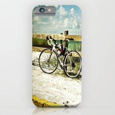 Bicycle on Beach iPhone 6s Slim Case