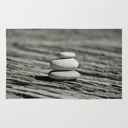 Stacked pebble Rug