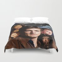 firefly Duvet Covers featuring Firefly by SB Art Productions