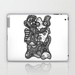 Faces in the Dark Laptop & iPad Skin