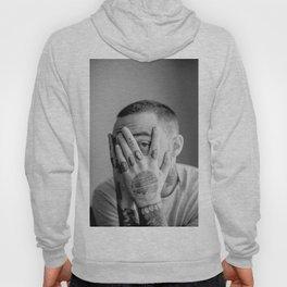 Mac Miller Black And White Portrait Hoody