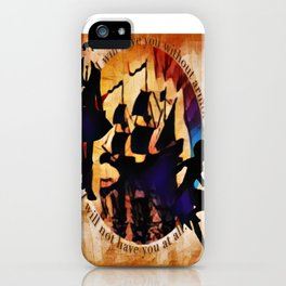 Kaz and Inej - armor iPhone Case