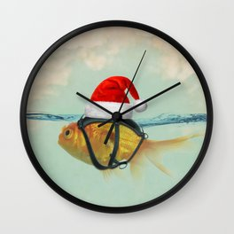 A Brilliant Disguise Christmas Wall Clock