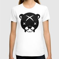suit T-shirts featuring Bear Suit by Terry Mack