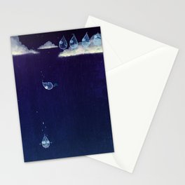 The Fall of Rain Stationery Cards