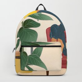 On the pages of a book Backpack