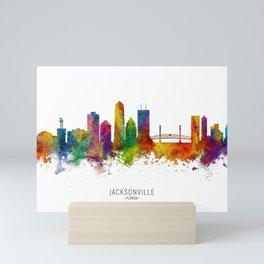 Jacksonville Florida Skyline Mini Art Print
