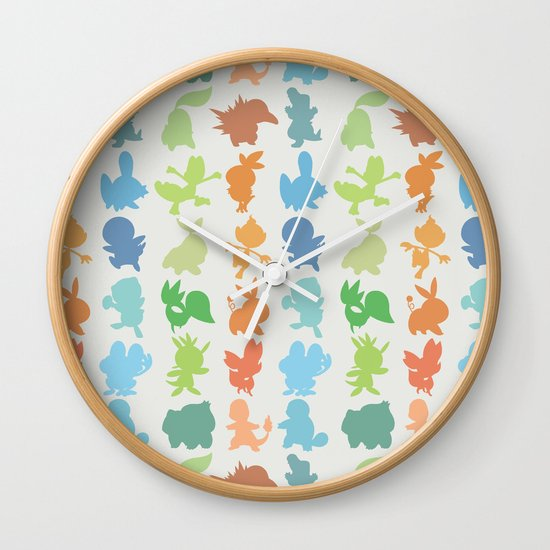 The Starters Wall Clock
