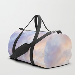 Pink sky / Photo of heavenly sky Duffle Bag