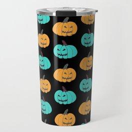 Pumpkin Halloween Jack O Lantern Travel Mug