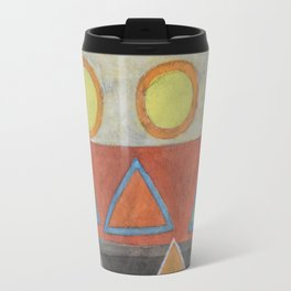 Clear the Stage for the Geometry Show Travel Mug