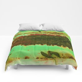 Rusted Middle Camo Colors Comforters