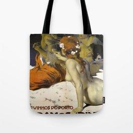 Vintage poster - Aramos Pinto Tote Bag