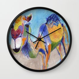 Camelorful Wall Clock