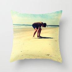 The Artist At Work Throw Pillow