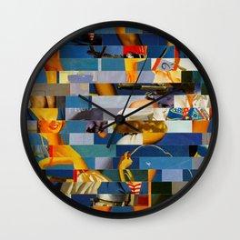 Shiver Me Ikea Timbers (Provenance Series) Wall Clock