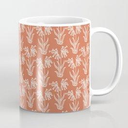 Droopy wildflower seamless pattern. Coffee Mug