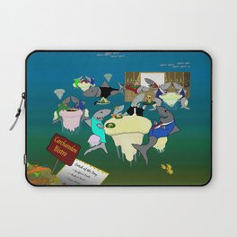 Carcharodon Bistro Laptop Sleeve