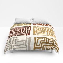 African Ceremonial Pattern Comforters