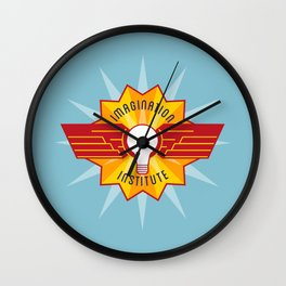 Imagination Institute Wall Clock