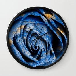 Starry Night Rose Wall Clock
