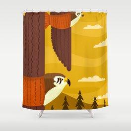 Hawks Shower Curtain