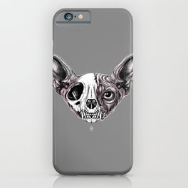 Shynx Half Skull iPhone Case