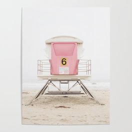 Pink Tower 6 Poster