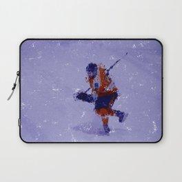 Eyes on the Prize - Ice Hockey Player Laptop Sleeve