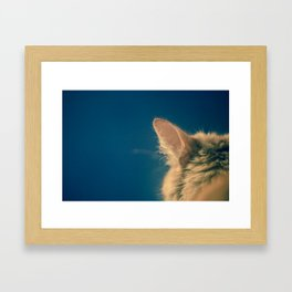 say what Framed Art Print