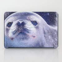 seal iPad Cases featuring Seal by Asya Solo