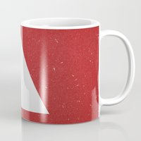 abyss Mugs featuring Abyss by Roxy Leaver