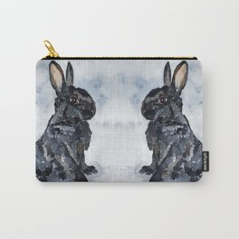BUNNY#8 Carry-All Pouch