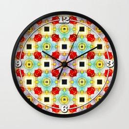 Embellecimiento Pattern Wall Clock