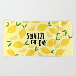 Squeeze the Day Beach Towel