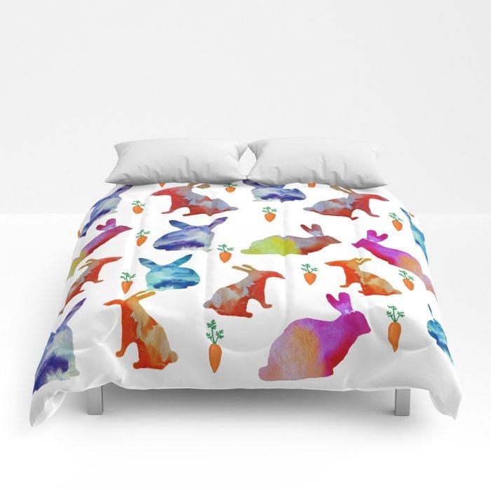 Rabbits Joy Comforters
