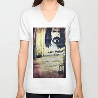 zappa V-neck T-shirts featuring Zappa by Litew8