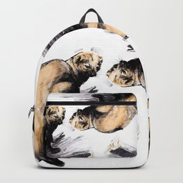 Totem Pekan (Martes pennanti) Backpack
