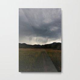 Storms A Brewin Metal Print
