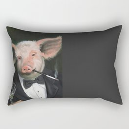 Elitist Pig Rectangular Pillow