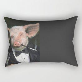 Elitist Pig Rectangular Pillow