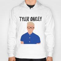 tyler spangler Hoodies featuring Tyler Oakley by BethTheKilljoy