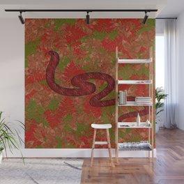 Autumn snake Wall Mural
