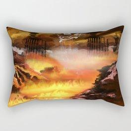 Heaven and Hell Rectangular Pillow