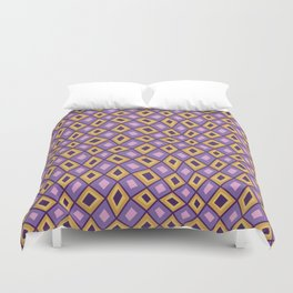Diamonds Are Forever-Sunset Colors Duvet Cover