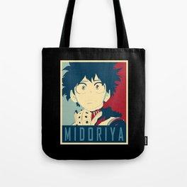 Midoriya Hope Poster Tote Bag
