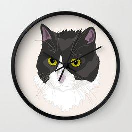 Casual Cat Wall Clock